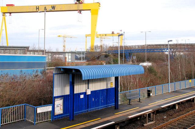 Passenger shelters, Bridge End station, Belfast (2)