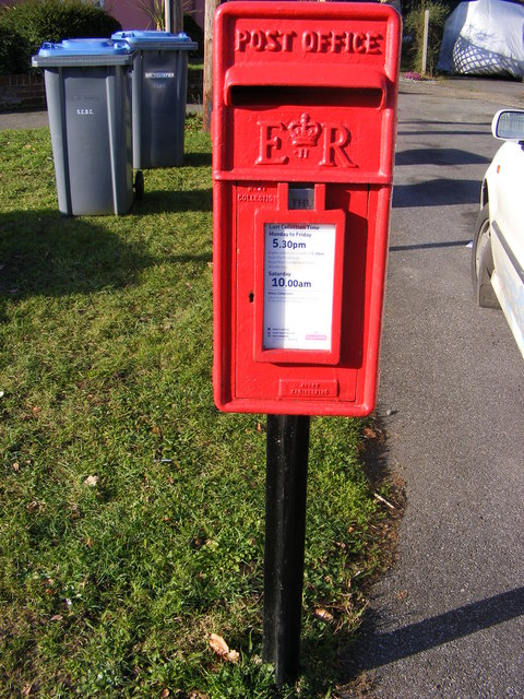 Hall Farm Road Postbox