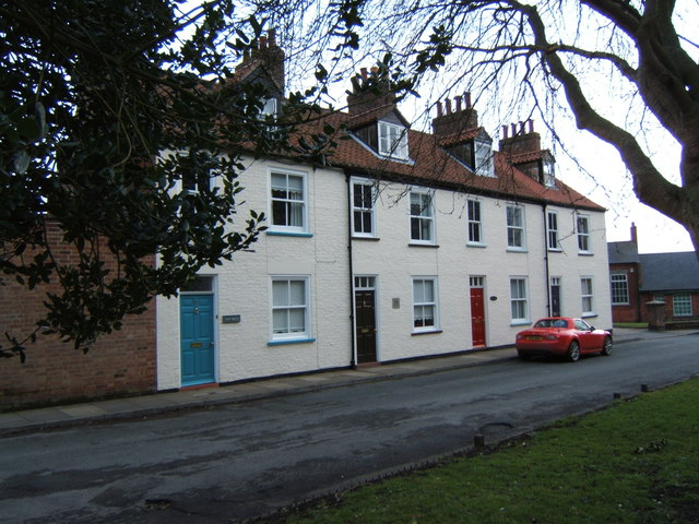 Houses on Church Green, Bridlington