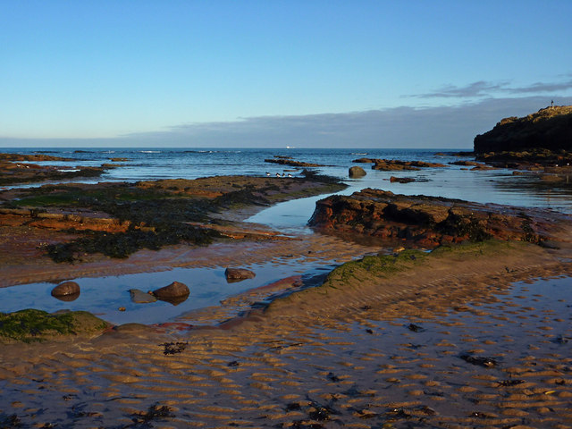 Shore near St Baldred's Cradle