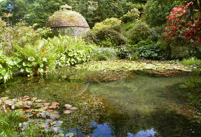 Fishpond and Dovecote, Cotehele