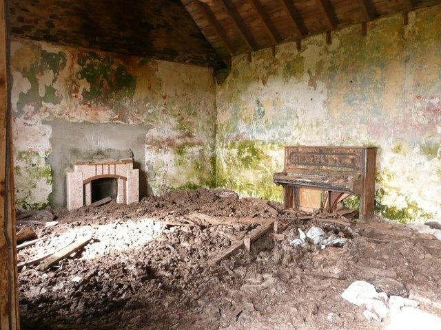 Abandoned Croft Interior