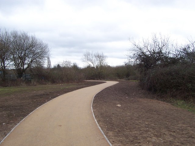 The new path in Diglis