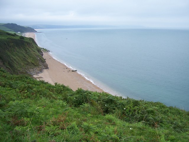 Tinsey head looking towards Beesands