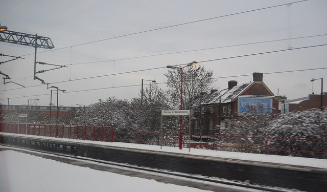 Passing through Harrow and Wealdstone Station