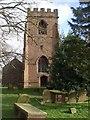 SJ3371 : Tower of St Michael's Church, Shotwick by John Lord
