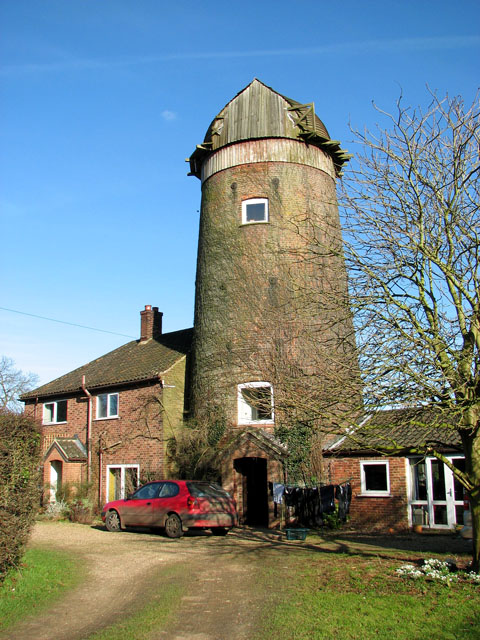 Hindolveston tower mill