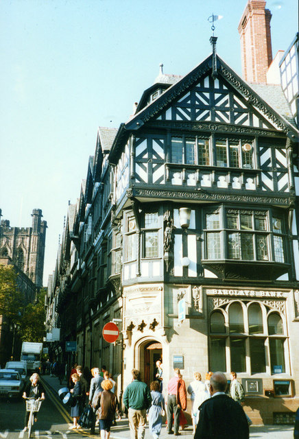 Barclays Bank in Chester