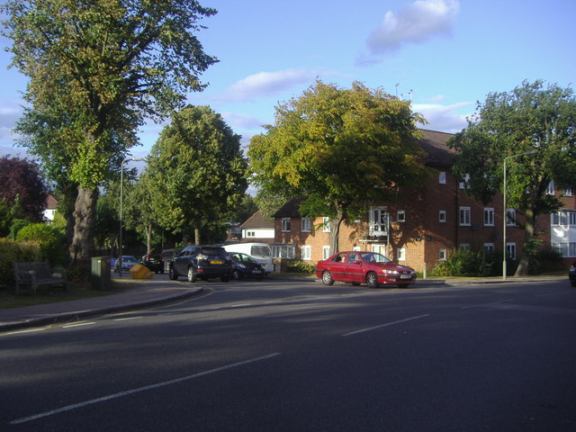 Torrington Park at junction of Friary Way