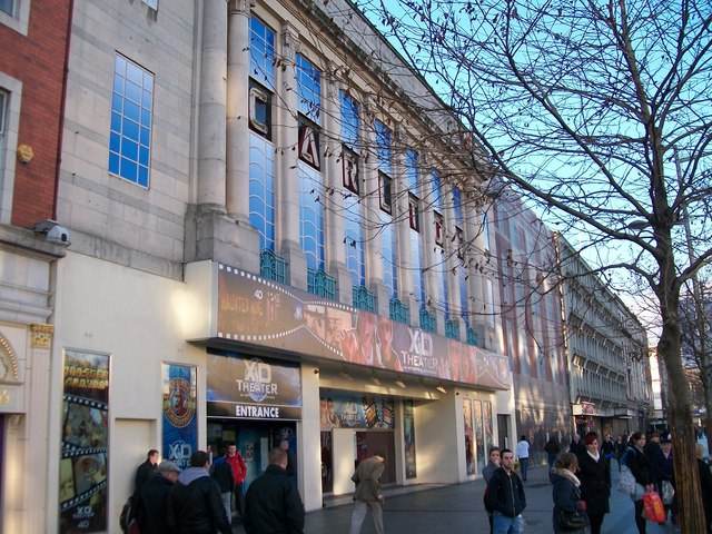 The XD Theatre at the former Carlton Cinema,  O'Connell Street