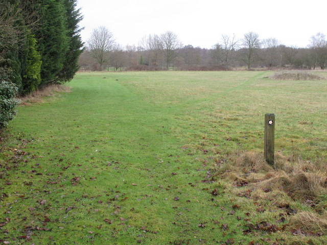 Footpath near West End