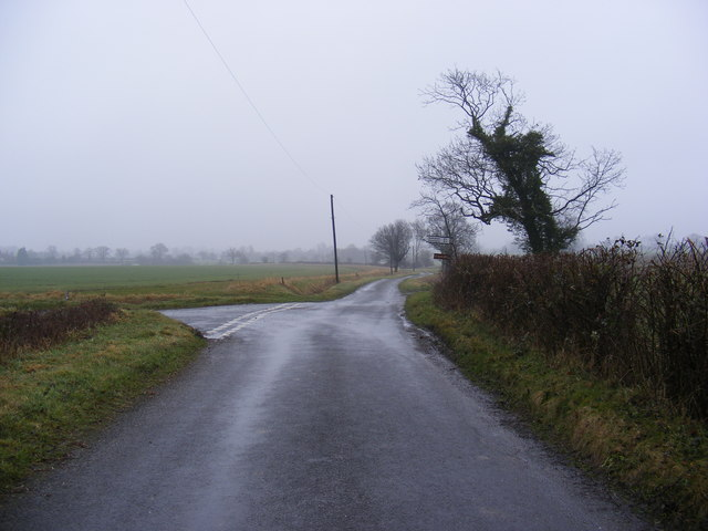 Bruisyard Road near Hernsey Wood