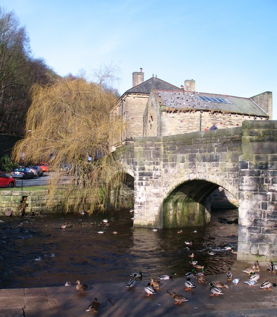 Old Bridge over Hebden Water