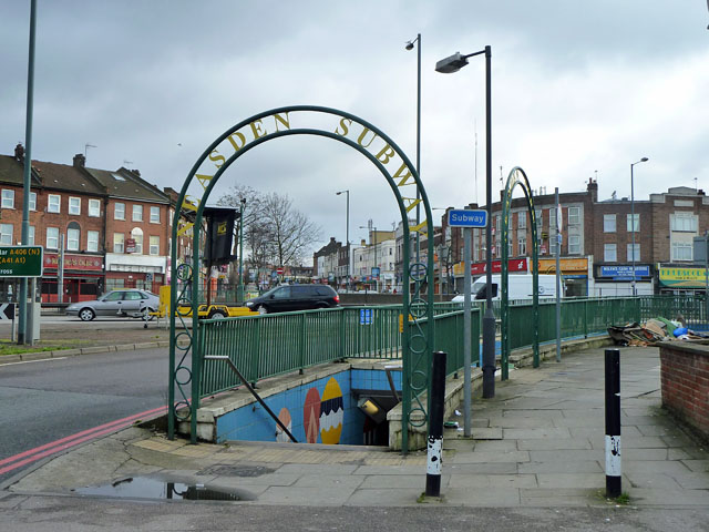 Neasden Subway