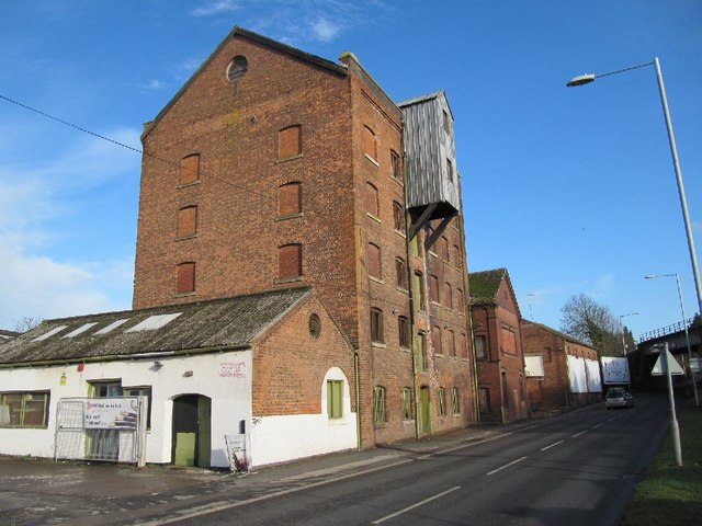 An old flour mill?