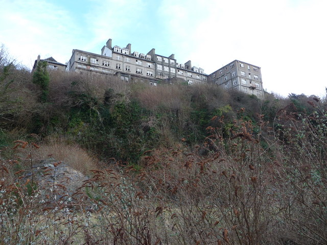Derelict Hotel In Harlech