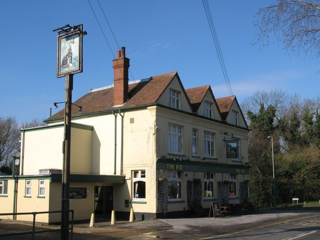The Fox, Heathfield Road / Fox Lane, Keston, BR2