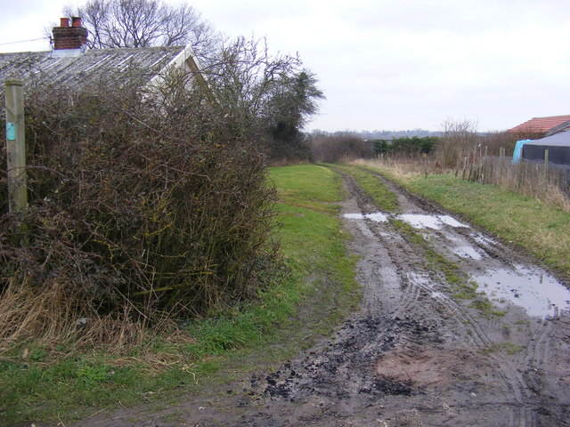 Bridleway to Low Grange Farm