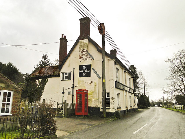 The Lord Nelson Inn, Mill Road, Holton, Suffolk