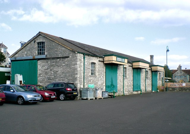 Swanage Railway goods shed, Swanage