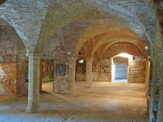 Cellars at Rufford Abbey