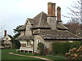 ST5578 : Blaise Hamlet - the ninth and second cottages by C P Smith
