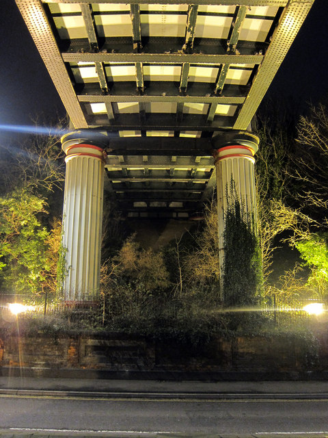 Railway Bridge over Queens Road