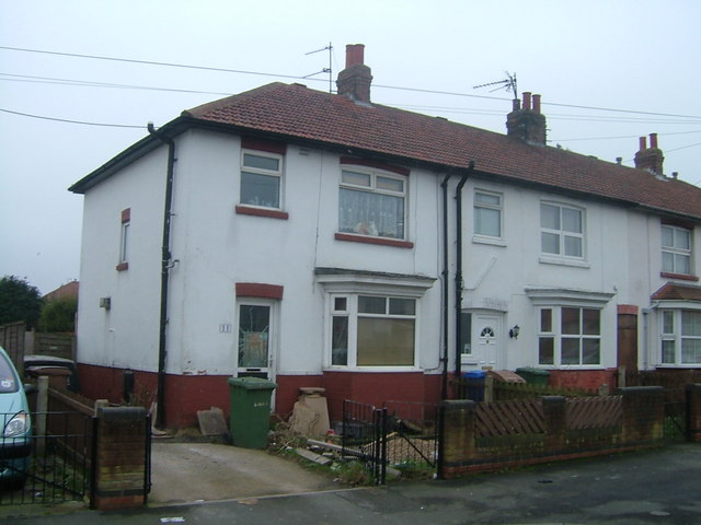 Houses on Medforth Road, Bridlington