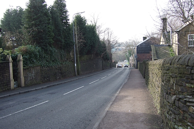 Kiln Lane towards Bridge Street