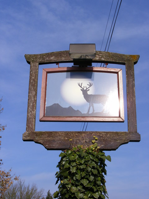 The Rumburgh Buck Public House sign