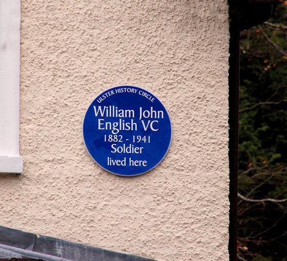 Photo of William John English blue plaque