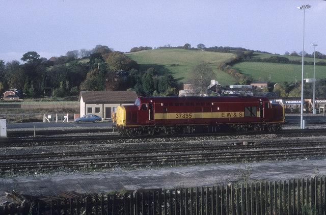 Exeter Riverside freight yard