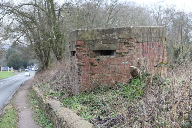 Pillbox on the London Road