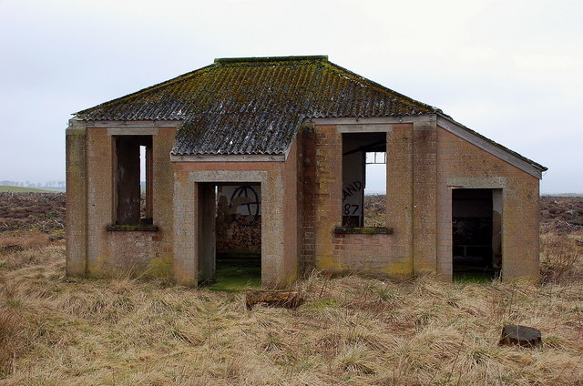 Derelict building by the old railway... © Jim Barton cc-by ... Ammunition Sizes