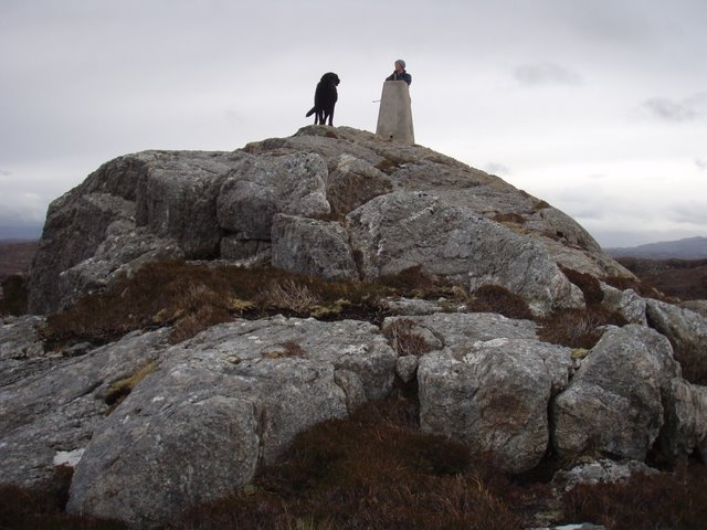 Trigpoint on Beinn Poll an Tobair