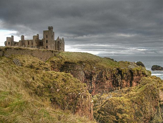 cruden bay  new slains castle  u00a9 martyn gorman cc 2 0