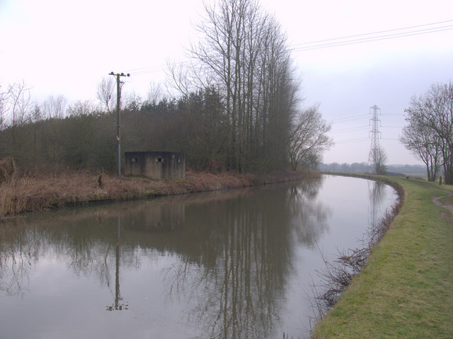 Pillbox on the Leeds Liverpool Canal near Hoscar