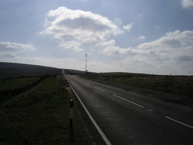 Road across Saddleworth Moor