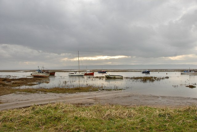 Spring Tide on the Slipway