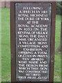 Photo of Bronze plaque number 13043
