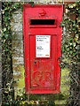 TM4162 : GR postbox number IP17 4641 on Saxmundham Road by Adrian S Pye