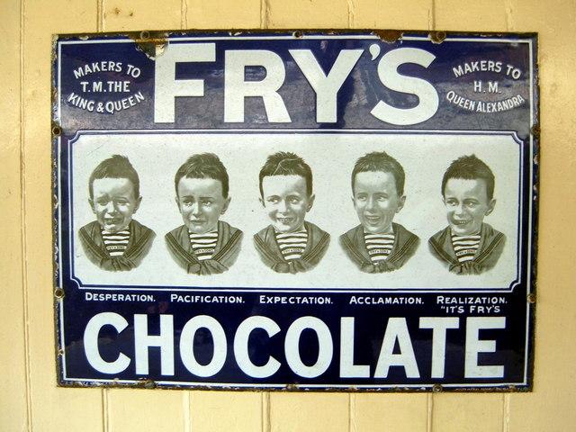 Fry S Chocolate Advert 169 Helmut Zozmann Geograph