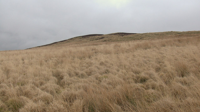 Moorland to west of Hurst Hill