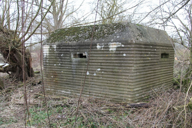 Corrugated pillbox