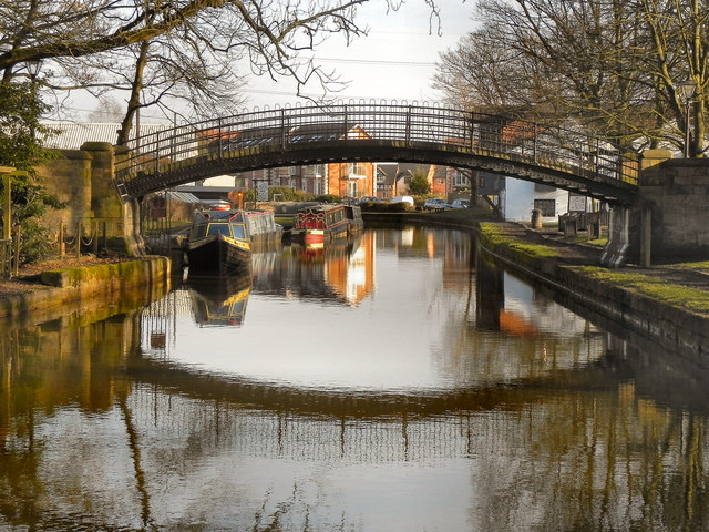 Bridgewater Canal Footbridge, Worsley