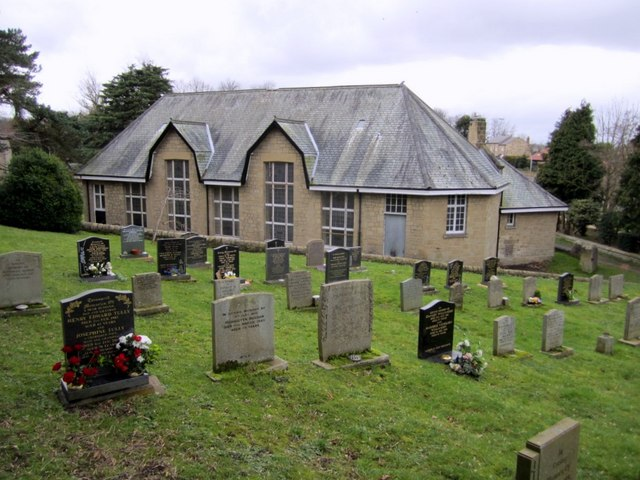 Rear of the Knott Memorial Hall, Heddon on the Wall