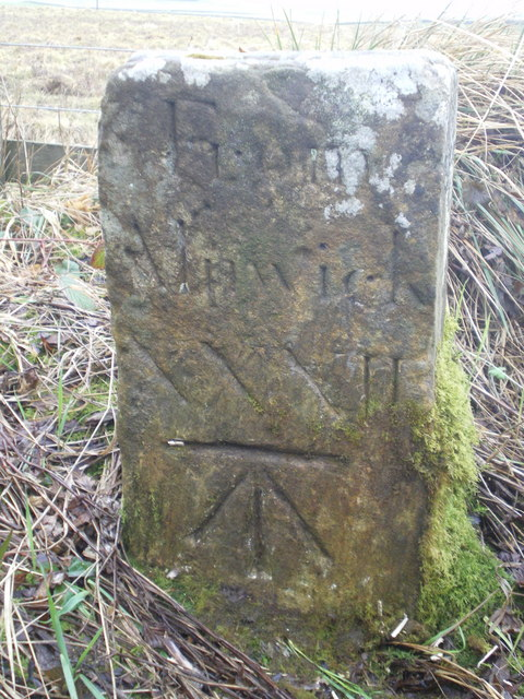 Milestone, near Little Bavington