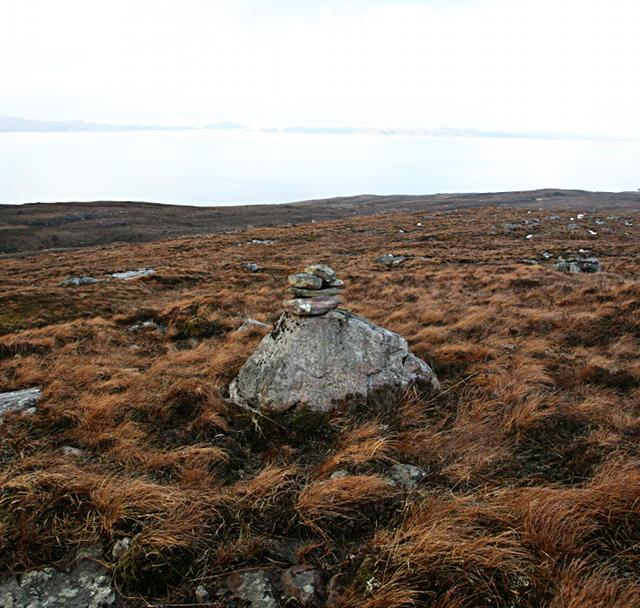 Mystery cairn
