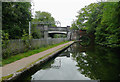 SP0484 : Canal approaching Somerset Road Bridge, Edgbaston by Roger  Kidd