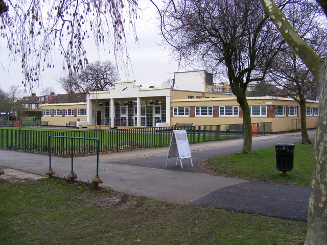 Pavilion at Sir Joseph Hood Memorial Playing Field